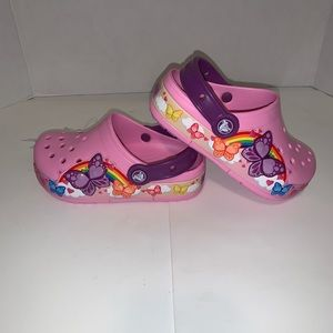 NWT Crocs butterflyband light new